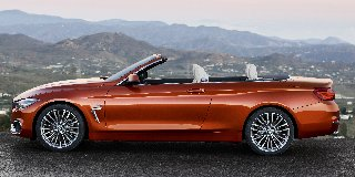 BMW 4 SERIES CONVERTIBLE FACELIFT 420i LUXURY LINE