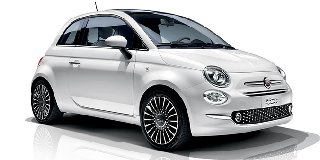 FIAT 500 0.9 TWIN AIR LOUNGE (85HP)