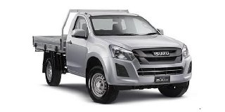 1 ISUZU D-MAX 250 HO CHASSIS CAB FLEETSIDE (SAFETY)