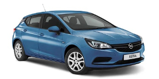 OPEL ASTRA HATCH 1.6T SPORT AT