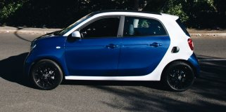 smart forfour 1.0 passion+sport AT