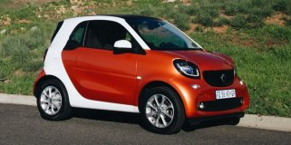 1 smart fortwo 1.0 passion