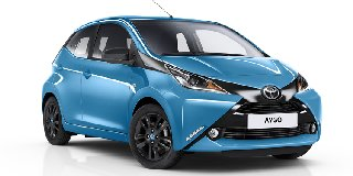 TOYOTA AYGO MY20.4 1.0 X-CITE BLACK