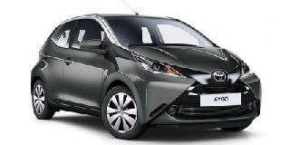 1 TOYOTA AYGO 1.0 X-PLAY SILVER