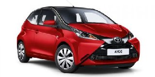 1 TOYOTA AYGO 1.0 X-PLAY BLACK