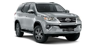 TOYOTA FORTUNER 2.4 GD-6 RAISED BODY AT