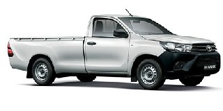 TOYOTA HILUX SC 2.0 VVTi CHASSIS CAB A/C